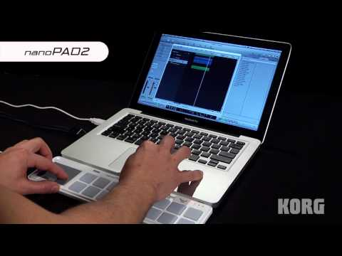 KORG nanoSERIES 2 Slim-line USB-MIDI Controllers (nanoPAD2, nanoKEY2, nanoKONTROL2): Video Overview
