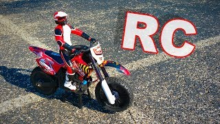 Our FIRST RC Motorcycle - 1:5 Scale ZD Racing 05222 - R - TheRcSaylors