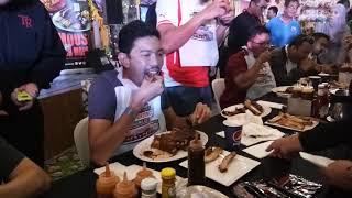 Tony Romas Malaysia Ribs Eating Contest 2017 - Men Final