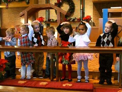 Weston - Holy Trinity Nursery School Christmas show, song 3