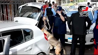 تأمين جامعة المنصورة في أول أيام الدراسة بـ«الكلاب البوليسية»