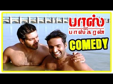 Boss Engira baskaran Comedy | Boss Engira Baskaran full Movie Comedy Scenes | Arya, Santhanam Comedy