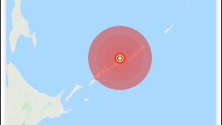Magnitude 6.9 earthquake Japan Hokkaido,