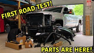 Rebuilding A Wrecked 2019 GMC Duramax Part 3