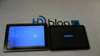 Acer Iconia Tab A500 vs Galaxy Tav 10.1v  ITA