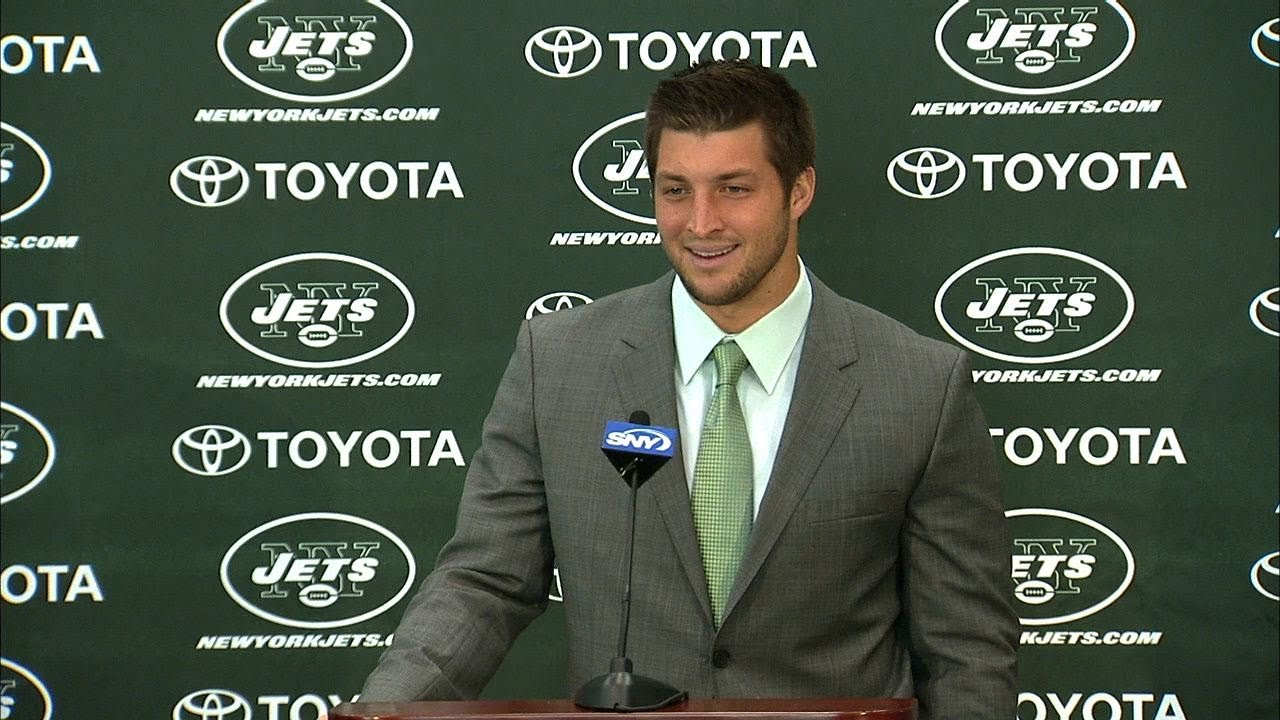 Tebow Press Conference Tim Tebow Has First Press