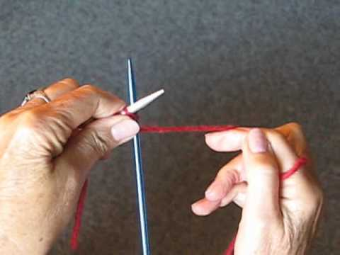 HOW TO KNIT: CASTING ON VIDEO