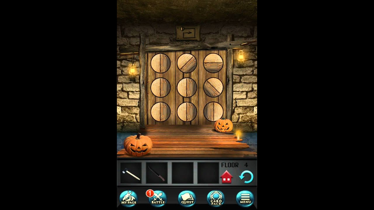 100 floors seasons tower level 4 halloween walkthrough for Floor 4 100 floors