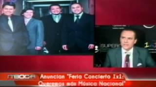 Anuncian Feria Concierto 1x1 Queremos más música Nacional