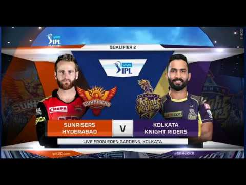 IPL 2018 :- SRH vs KKR Full Match highlights ,Qualifier 2 | Rashid's all-round show
