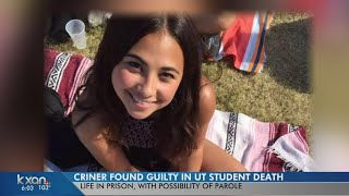 Haruka Weiser's father says he will fight to keep Meechaiel Criner behind bars forever