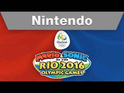 Nintendo - MARIO & SONIC AT THE RIO 2016 OLYMPIC GAMES E3 2015 Trailer
