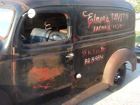 Dodge Trucks For Sale By Owner >> 1947 DODGE PANEL TRUCK - RARE AND RUSTY RESTORABLE WRECK ...