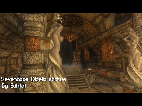 Skyrim Mod Review 09 - Isabella, Huskies and Nude Statues - Series: Boobs and Lubes