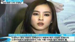 """[news] han hea jin, sexy dress (반전드레스 한혜진 """"김민정은 저의 선생님"""")"""