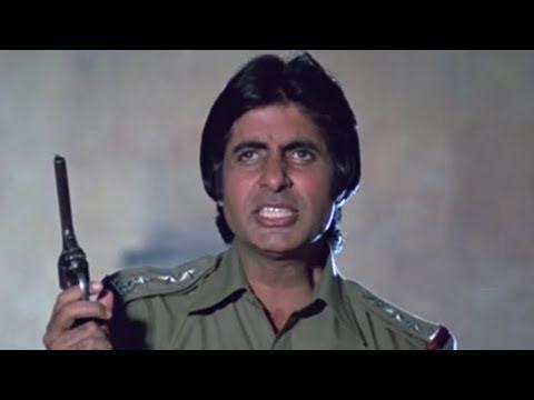 Amitabh Bachchan Kadar Khan Inquilaab - Scene 721