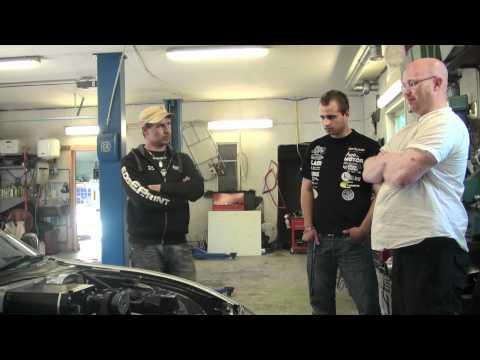 Inför Speedfestival - Garagebesök hos Team Driftpower [Åland]