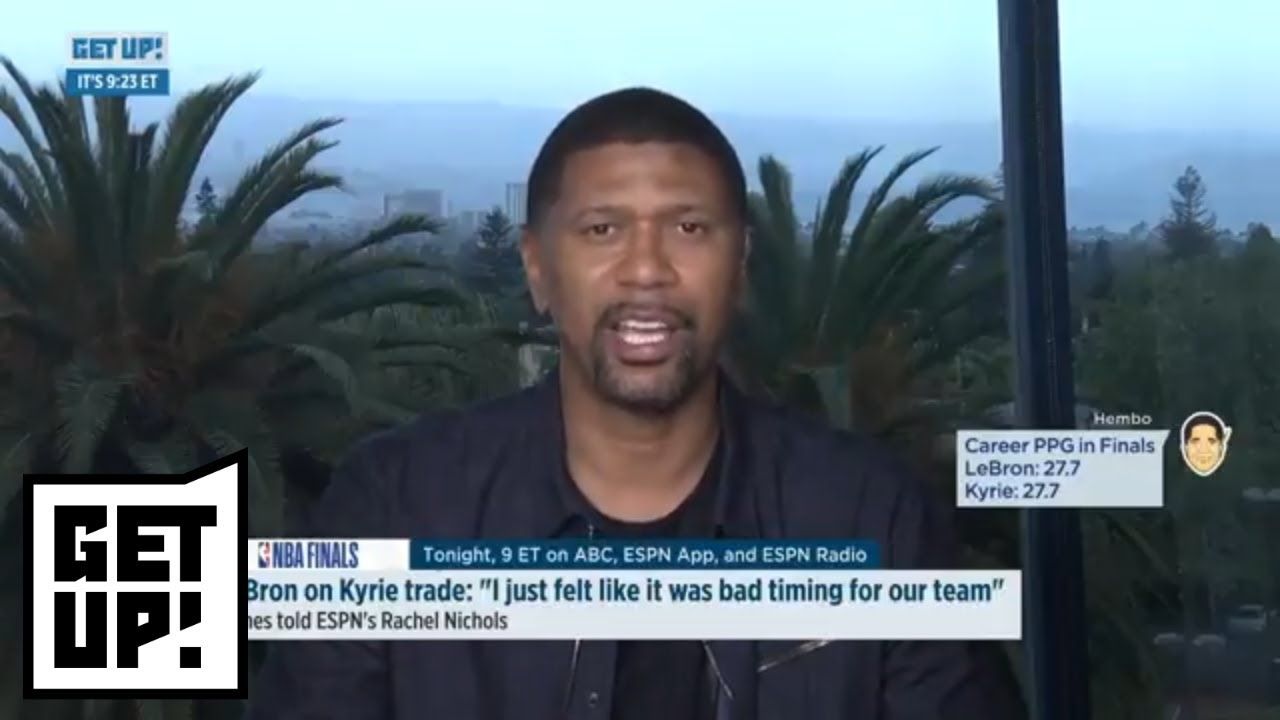 Jalen Rose says Cavaliers made a 'bad decision' trading Kyrie Irving to Boston | Get Up | ESPN