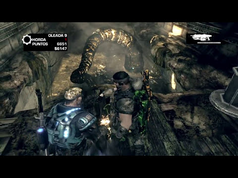 Gears of War 3 | Huevo de Pascua Repercusiones, Hacha de Agua (El Original, no Bug)