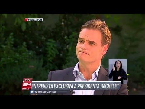 Entrevista a Bachelet
