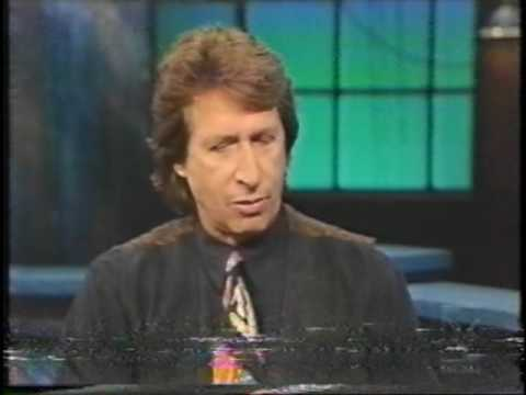 The John Stewart Show with his guest, David Brenner