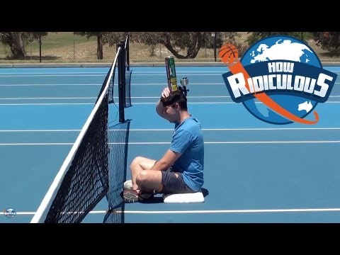 Tennis Trick Shots with Matt Ebden - How Ridiculous