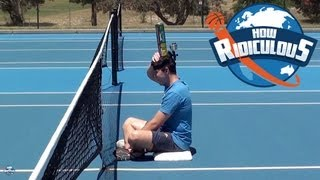 Tennis Trick Shots - How Ridiculous