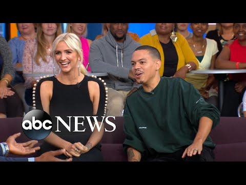 Ashlee Simpson taught Evan Ross to 'really be yourself' on their new reality show