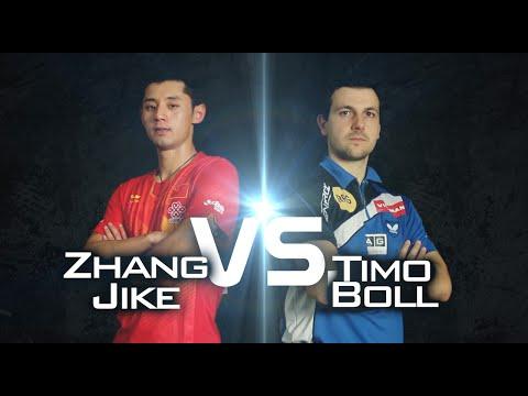 2014 Men's World Cup Highlights: BOLL Timo vs ZHANG Jike (Semi Final)