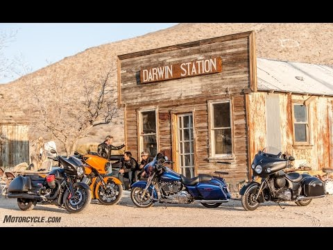 2017 Baggers Brawl: Street Glide vs Chieftain vs MGX–21 vs Magnum