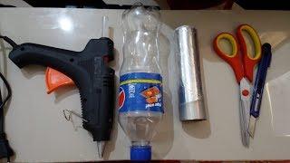 खाली प्लास्टिक  बोतल craft idea || best out of waste | plastic bottle reuse idea || 2018