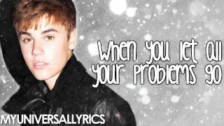 Justin Bieber - Santa Claus Is Coming To Town (Lyrics)