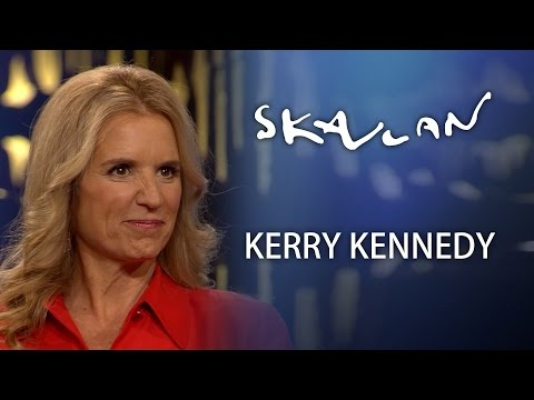 Kerry Kennedy Interview | Skavlan