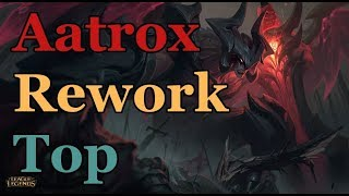 Laning with Aatrox Rework - The Laning Phase. Because the PBE Sucks, and Games Won't Last