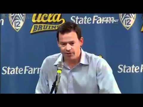 talks about all the highly recruits UCLA signed as well as his opinions on them. In the middle of the video is Jim L Mora's press conference introducing the ...