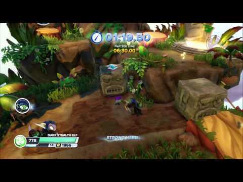 Time Attack 02 - Cascade Glade [Skylanders Swap Force]