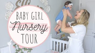 BABY GIRL NURSERY TOUR 2019