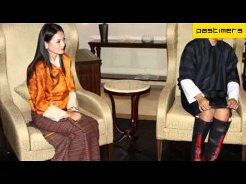 Bhutan's newly Married King Jigme Khesar Namgyal Wangchuk Visits India