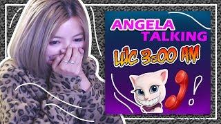 ĐỪNG CHƠI TALKING ANGELA VÀO 3 GIỜ SÁNG - OHSUSU BỊ ÁM || Thử Thách Talking Angela 3AM