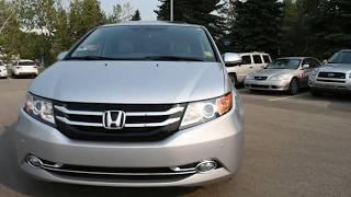 2015 Honda Odyssey Touring Elite | West Side Acura in Edmonton Alberta