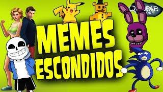 Memes Escondidos Dentro de Jogos - Quasar Jogos