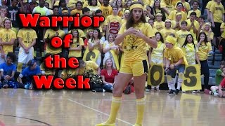 Warrior of the Week - Isa Scaturro