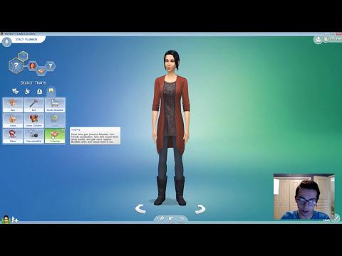 Sims 4 CAS Live Stream PT 1