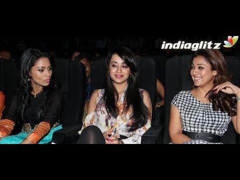Arya is like a Family member - Nayanthara Trisha Pooja | Amara...