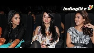 Arya is like a Family member - Nayanthara, Trisha, Pooja | Amara Kaaviyam Audio Launch