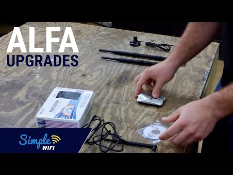 Alfa 1000mW Available Antenna Upgrades Explained - 7dBi. 9dBi & Mount