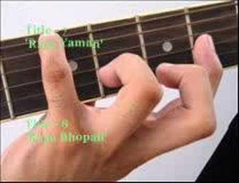 Raga on Guitar (Ahir Bhairava Audio)