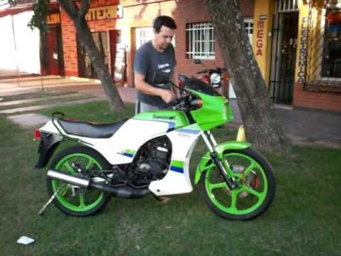 Kawasaki Ar125 Ar 125 Blue And White How To Save Money