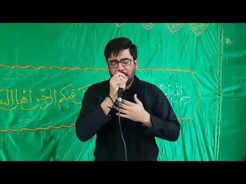 Mir Hasan Mir Kar madad meri Baqar (as) beta karbala 2018Nohay 2019 1440 Subscribe This Channel
