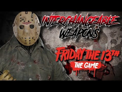 Interchangeable Weapons for Jason!   New Trailer Breakdown   Friday the 13th: The Game
